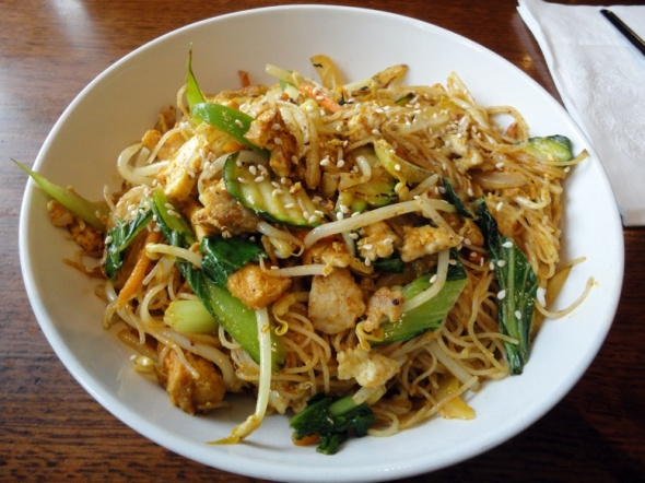 Singapore noodles at Peko Peko in South Melbourne.