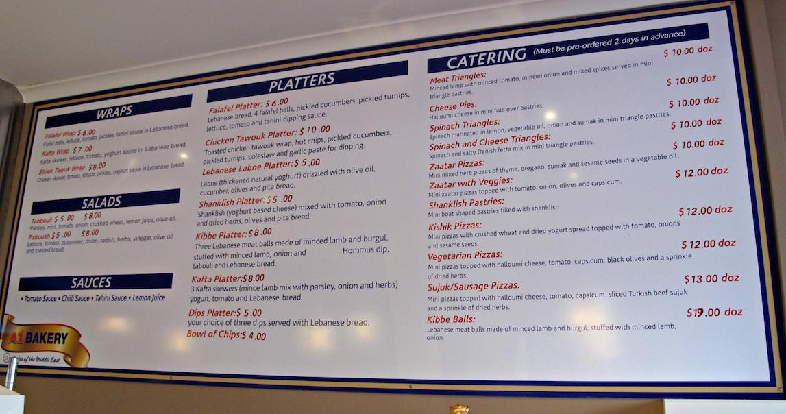 Cheap Lebanese Food Western Sydney